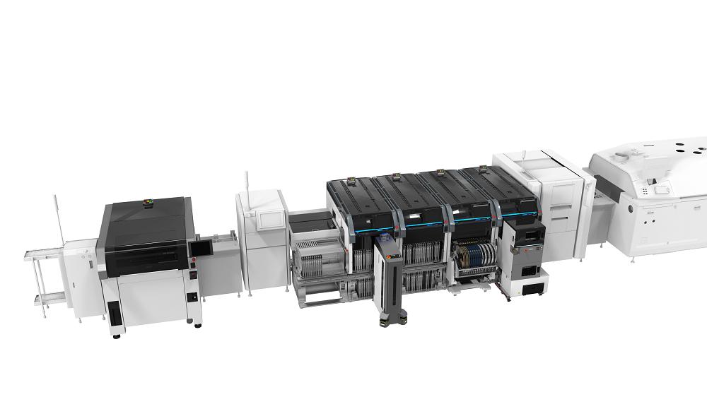 FUJI EUROPE CORPORATION auf der productronica: Erste Bestückplattform für automatisierten Feeder-Wechsel