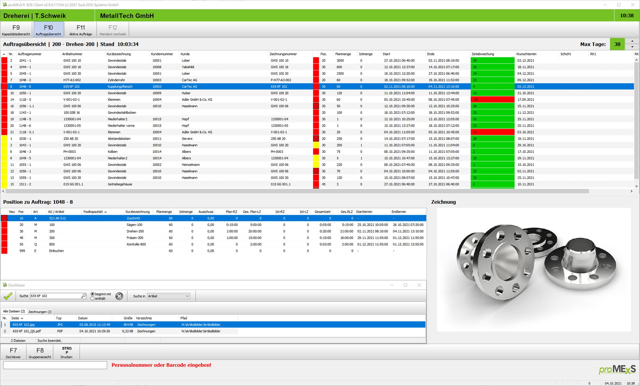 Für eine transparente Fertigung: BDE-Lösung von Sack EDV-Systeme erweitert ERP-Software von Sage