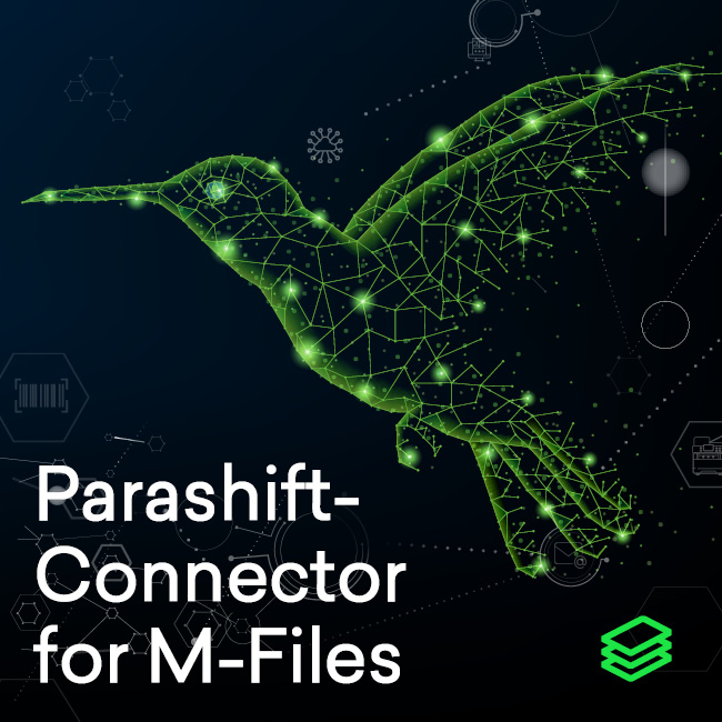 Neuer Konnektor integriert Parashift und M-Files für Intelligent Document Processing